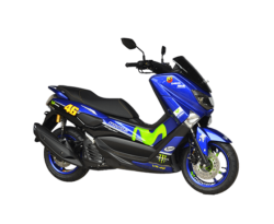 Modifikasi Yamaha NMax Custom Blue GP Movistar 46