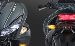 Sporty LED Headlight & Tail Aerox
