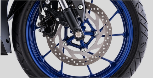 Wide Diameter Front Disc Brake R15